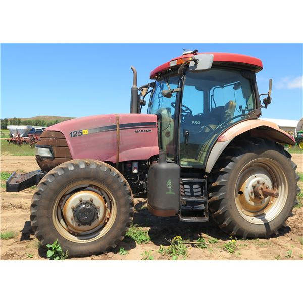 2010 Case IH Maxxum 125 Tractor (Runs & Drives See Video)