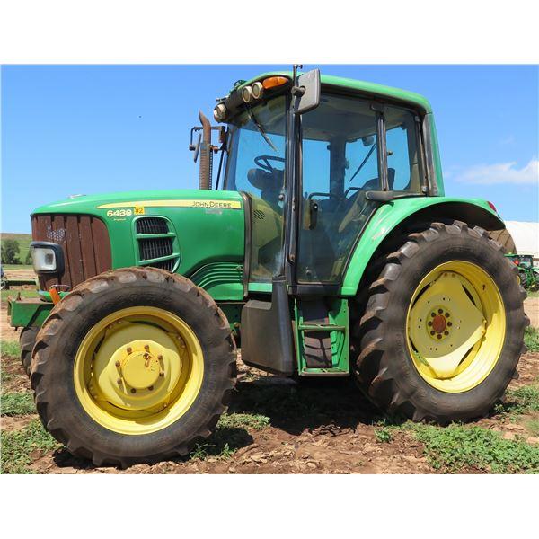 2010 John Deere 6430 Premium Tractor (Runs & Drives See Video)