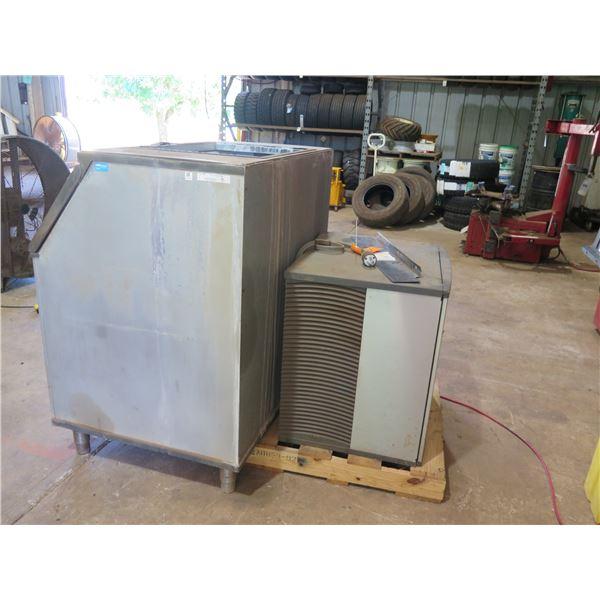 Manitowoc Ice Machine with Bin