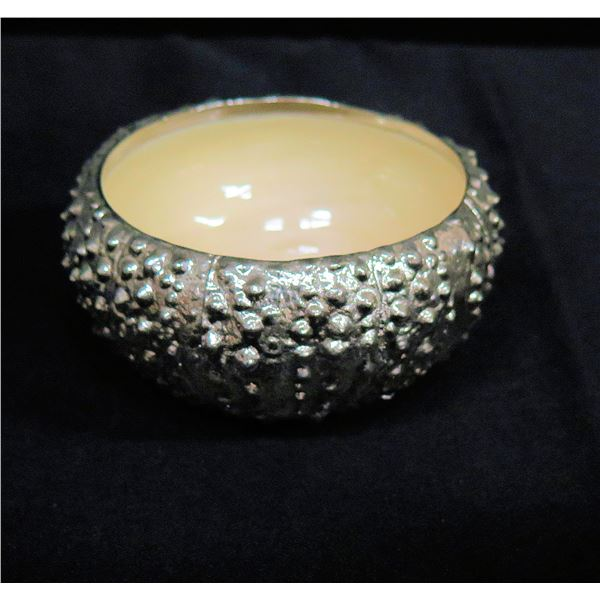 "Michael Aram 'Urchin' Design Bowl w/ White Glazed Interior 5""x2""H"