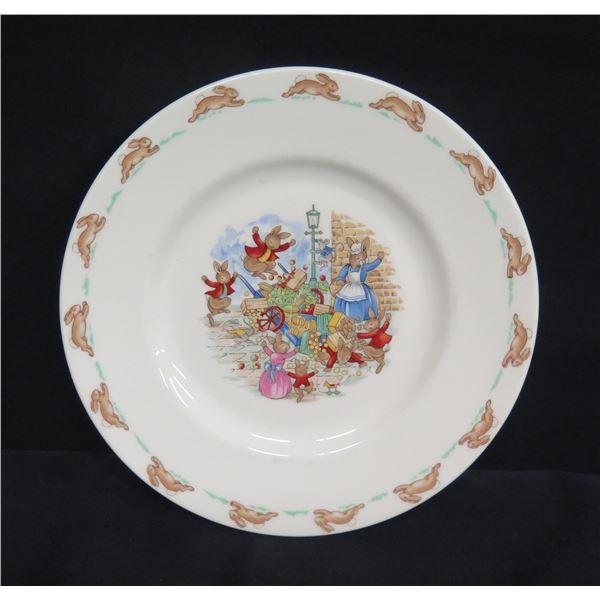 "Royal Doulton England 'Bunnykins' Plate 8"" Dia."