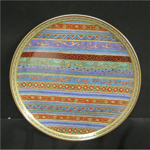 """Hermes 'Cheval d'Orient' Plate - Honolulu Academy of Arts 2006 7.5"""" Dia."""