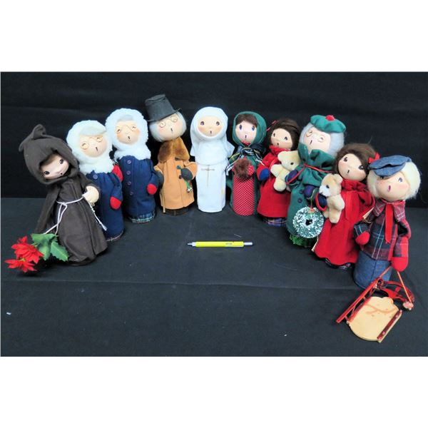 "Christmas-Caroling Figurines 11""H"