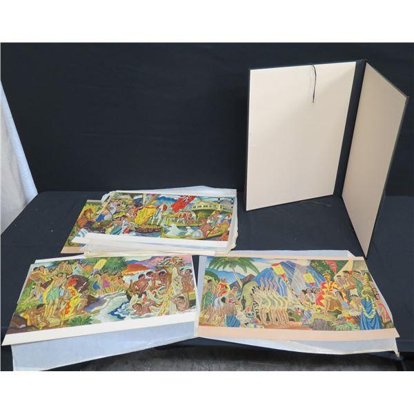 Multiple Hawaiian Prints: Pomp & Circumstance, Festival of the Sea, etc