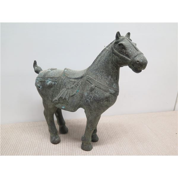 """Metal Horse, Approx. 17""""H"""
