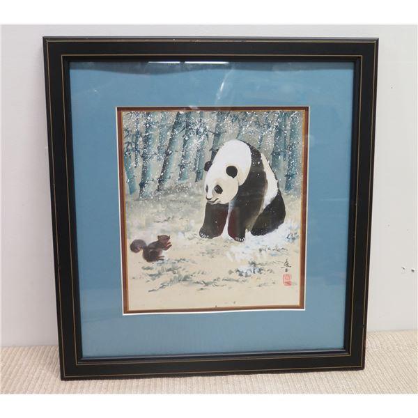 Framed Art, Panda