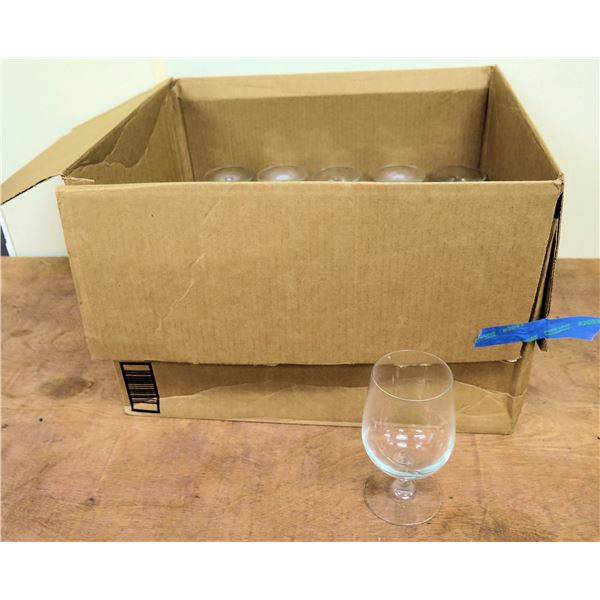 """Box Qty 24 Stemmed Wine or Water Glasses 6.5"""""""
