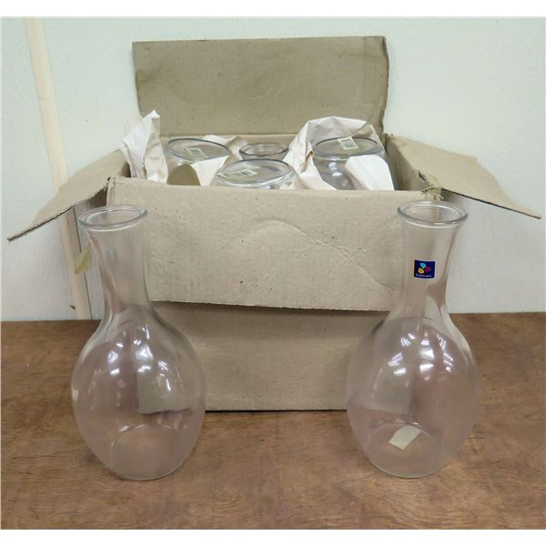 "Box Qty 6 Luminarc Glass Carafe Limon 10""H"