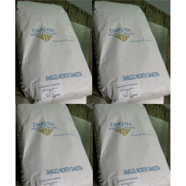 Qty 4 Dakota Specialty Milling 50-lb Quick Oat Flakes Bags