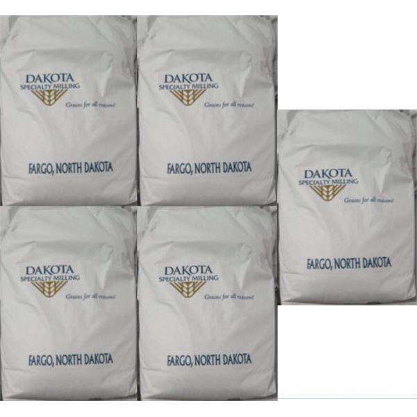 Qty 5 Dakota Specialty Milling 50-lb Dark Rye Flour Bags