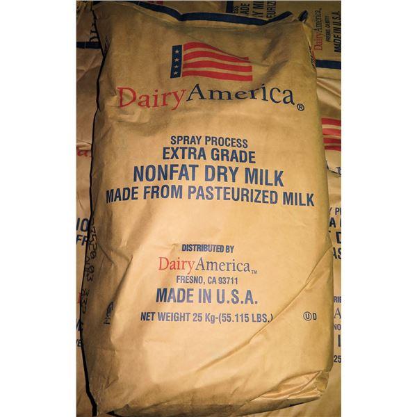 Qty 1 Dairy America 55-lb Spray Process Extra Grade Nonfat Dry Milk Bag