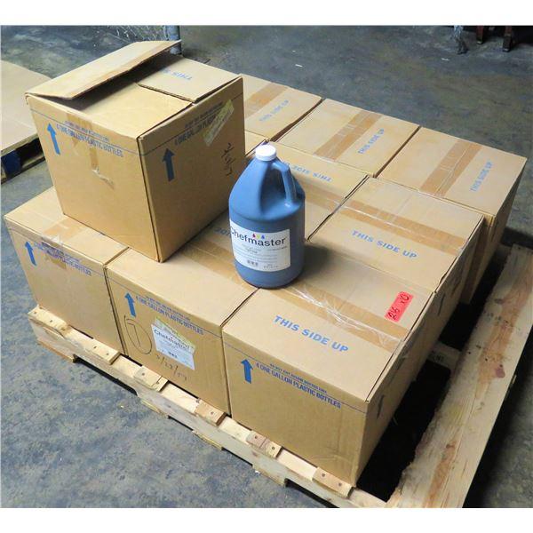 Qty 10 Boxes (4 ea) Chefmaster Liqua-Gel Color Food Coloring Royal Blue Gallons