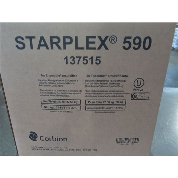 Qty 3 Boxes Corbion Starplex 590 Distilled Emulsifiers 137515