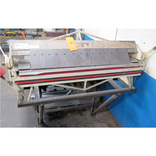Jet Bench BP-1648H Hand Brakes Capacity 16 GA x 48  (Pick Up By Appointment Wed-Sat)