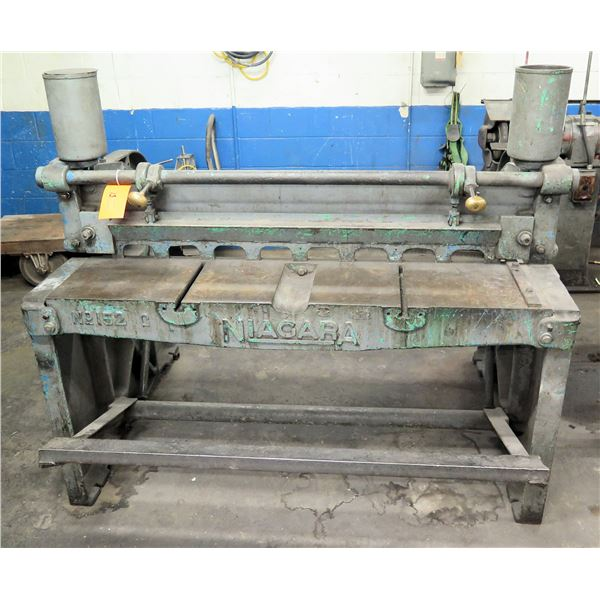 Niagara Frame Foot Metal Shear Press No 152 C -(Pick Up By Appointment Wed-Sat)