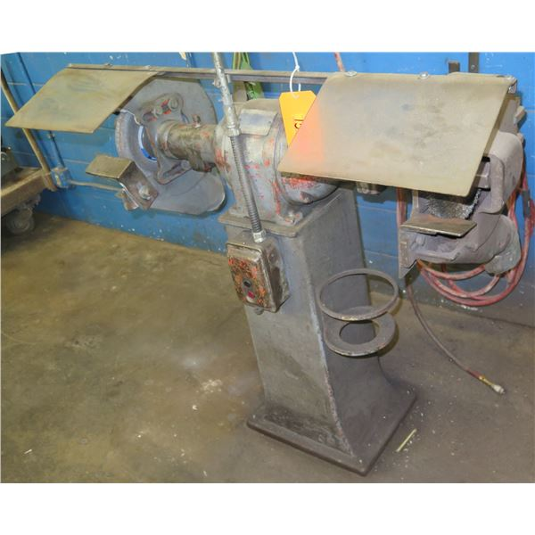 GE General Electric Grinding Wheel w/ Wire Brush Tool