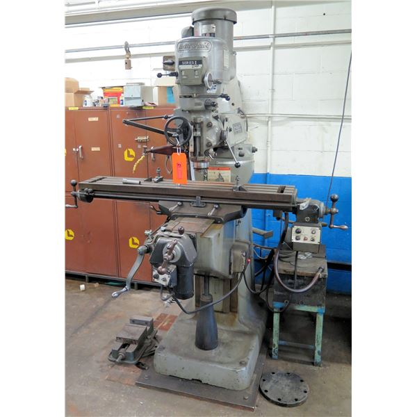 Bridgeport Series I 2 HP Table Milling Machine (Pick Up By Appointment Wed-Sat)