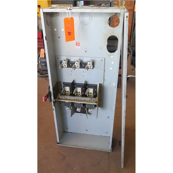 GE General Heavy Duty Safety Switch Box 400 Amp 600 V.AC Max HP 350