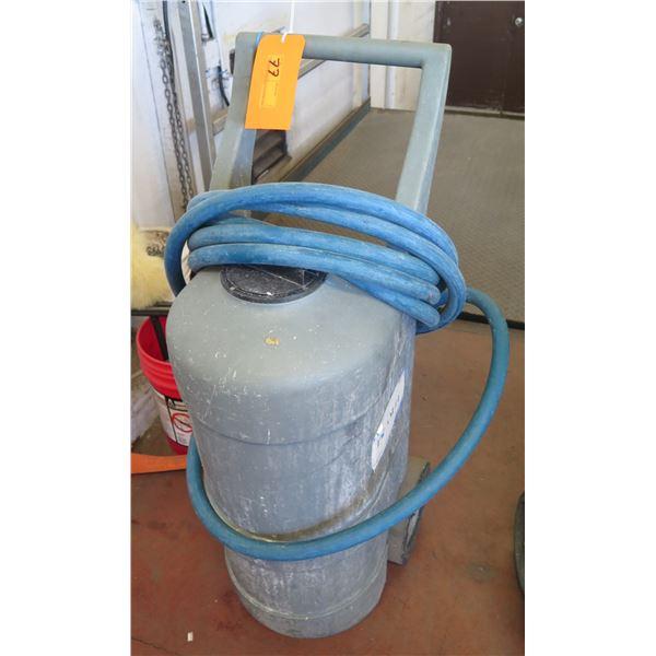 Foam-It Foamer on Wheels w/ Hose & Sprayer