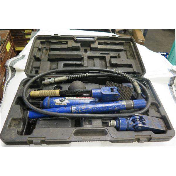 Westward Hydraulic Ram System Kit Capacity 4 Ton Model 3ZC68