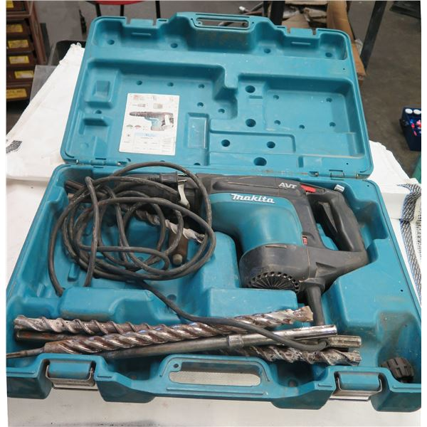 Makita AVT Electric Rotary Hammer HR4010C in Hard Case