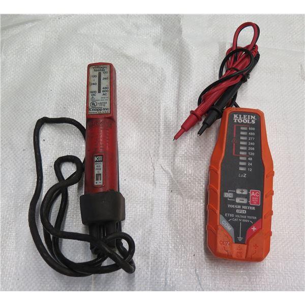 Klein Tools Tough Meter 1P54 & Knopp Voltage Tester