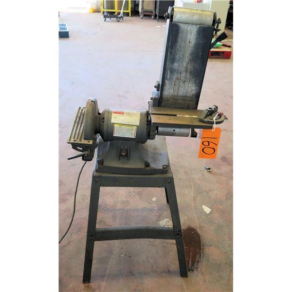 Dayton 1HP, 3450 RPM Tool on Metal Stand