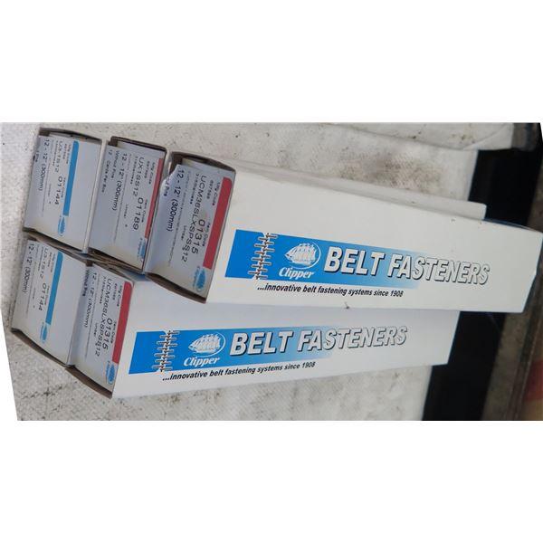 "Qty 5 Boxes Clipper Belt Fasteners 12"" Model 01315"