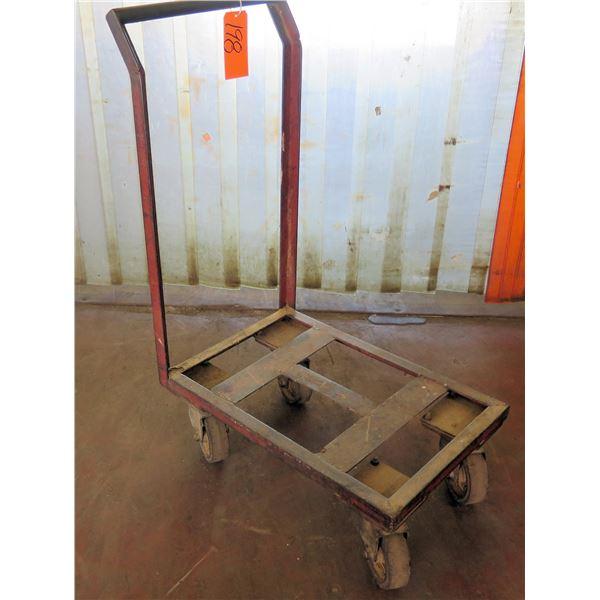 "Metal 4 Wheel Platform Hand Truck Dolly 20""x29""x48"" Ht."