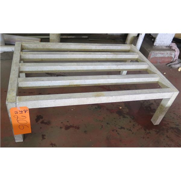 "Dunnage Rack w/ Slatted Top 36""x24""x12"" Ht."