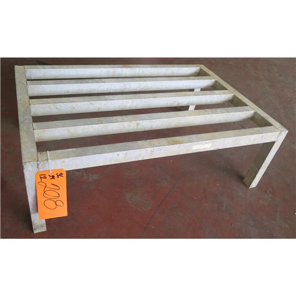 """Dunnage Rack w/ Slatted Top 36""""x24""""x12"""" Ht."""