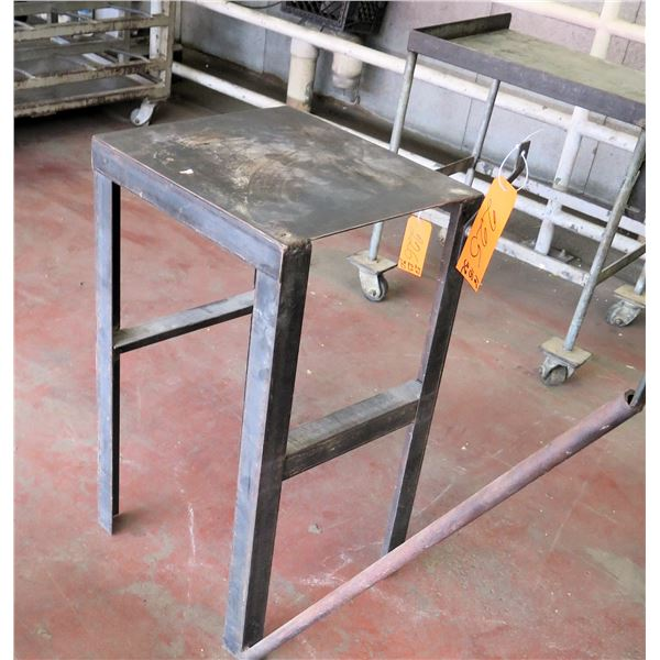"Metal Shop Table 27""x23""x30"" Ht."