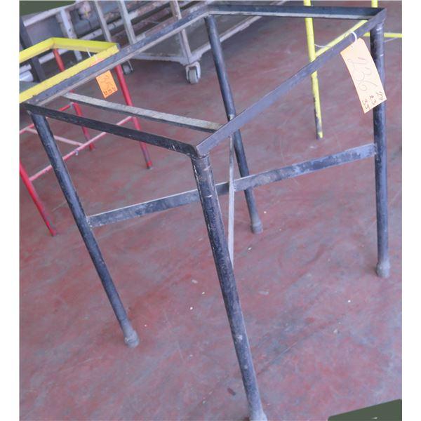 "Metal Base Stand 27""x23""x35"" Ht."