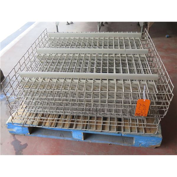 "Qty Approx. 9 Metal Wire Cooling Racks 42""x43"""
