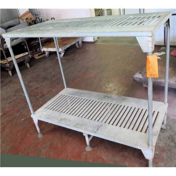 "Metal 2 Tier Cooling Rack 60""x30""x54"" Ht."