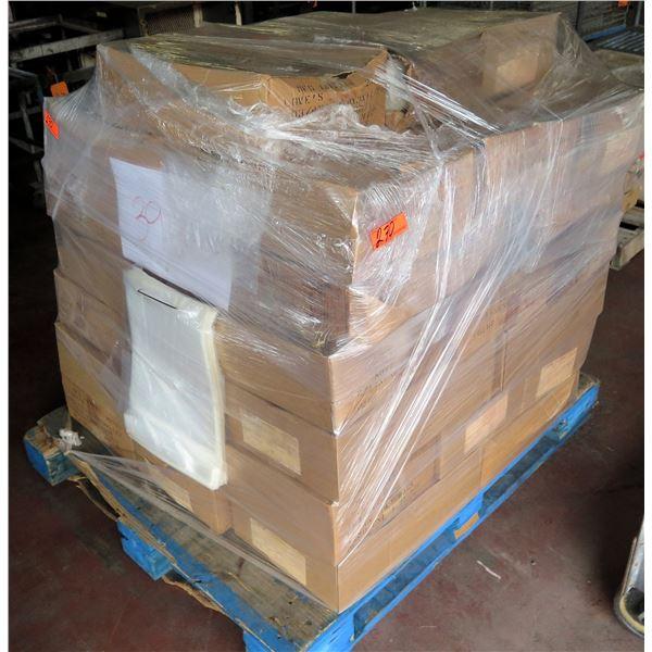 Pallet Multiple Boxes Plain Poly Bags (1250 per box)