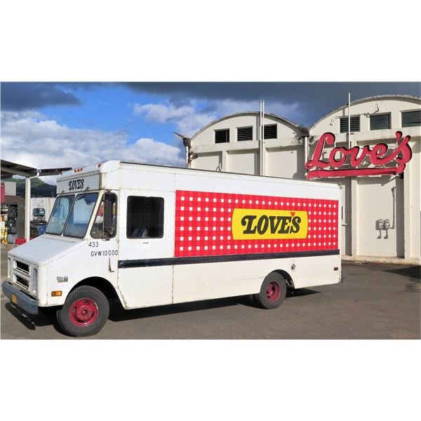 1990 Chevrolet Bread Delivery Truck (#433) - Starts & Runs, See Video