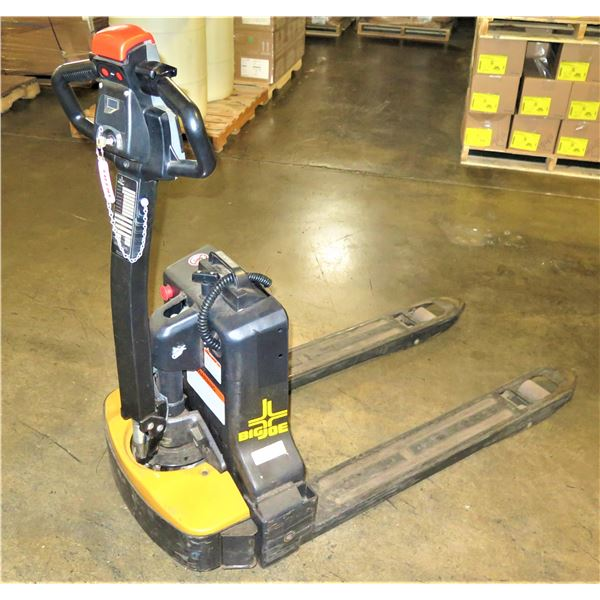Big Joe LPT33 Lithium Electric Pallet Jack, Recently Acquired, 187 Hours