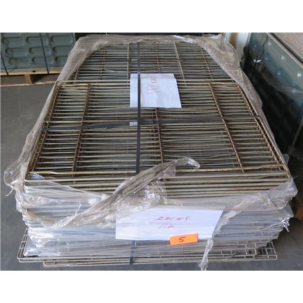 Qty 112 Metal Racks