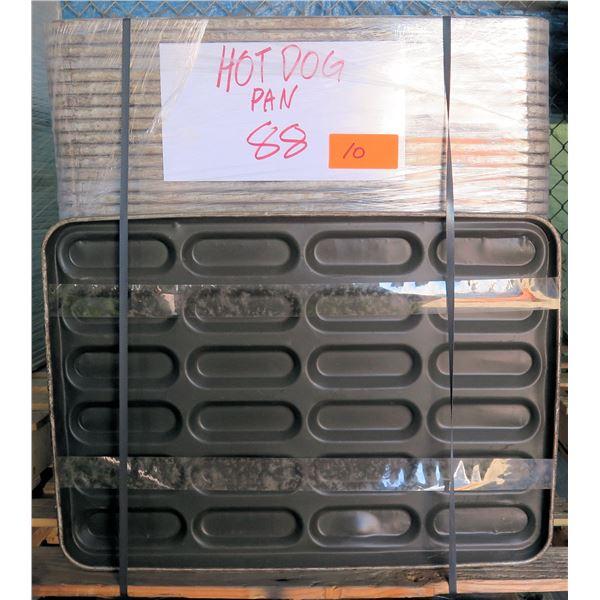 Qty 88 Hot Dog Bun Pans