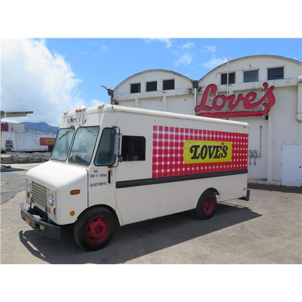1979 Ford Step Van Bread Delivery Truck, Starts & Runs (#466), Fleet License Plate Has Been Removed