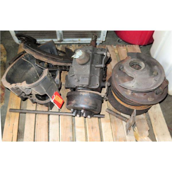 Pallet 3 Misc Flywheel, Clutch Parts & Transmission Casing
