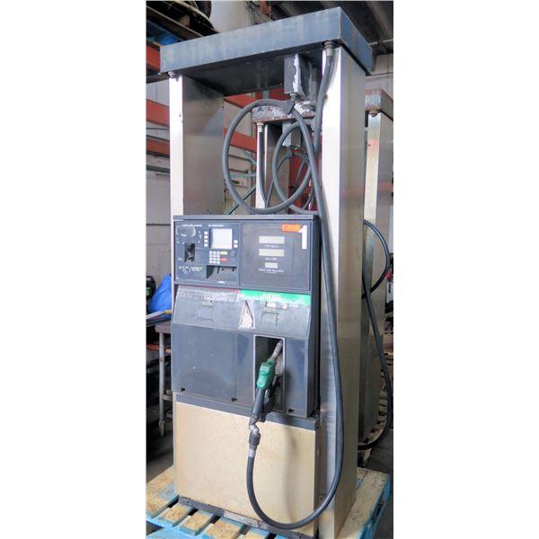 Gilbarco Diesel Automotive Fuel Pump Dispenser w/ Hose & Nozzle
