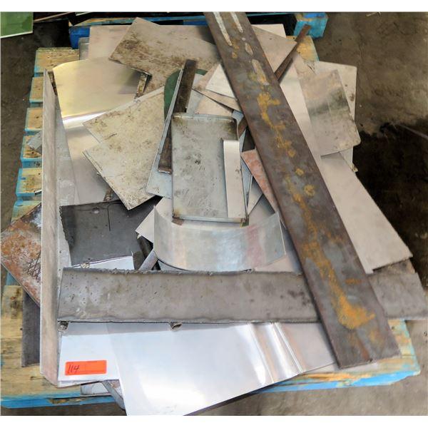 Pallet Misc Metal Pieces