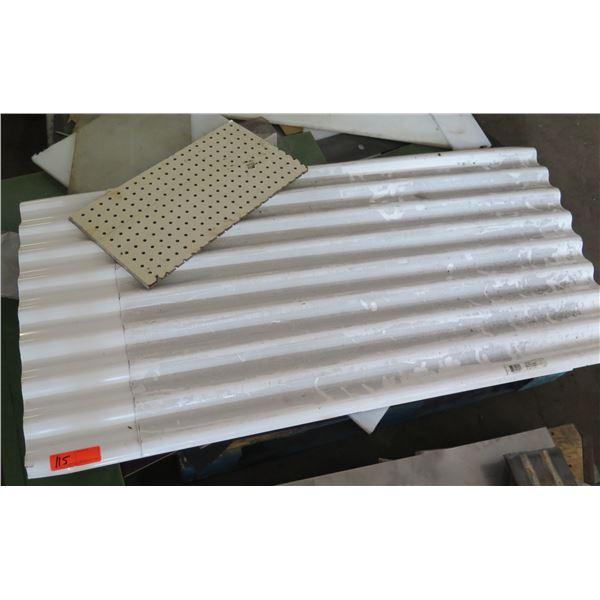 Pallet Corrugated Plastic Piece & Pegboard