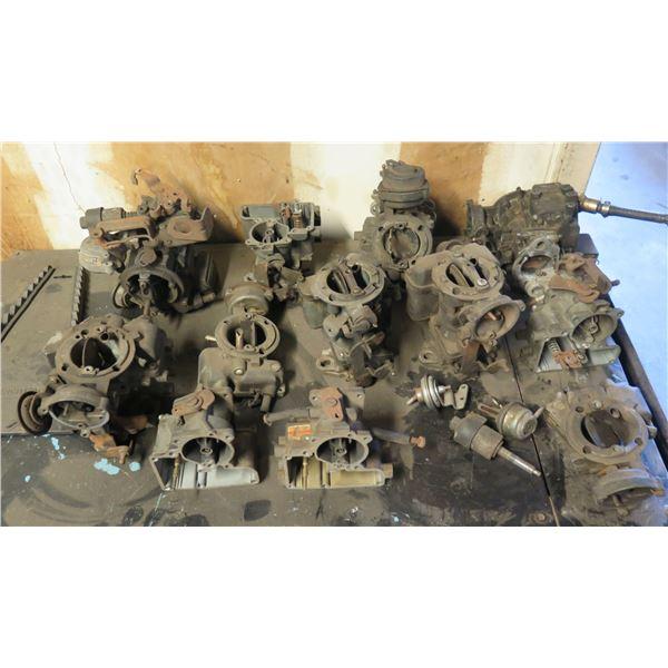 Multiple Misc Carburetors & Parts
