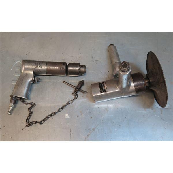 Chicago Pneumatic Air Sander CP865 & Air Drill