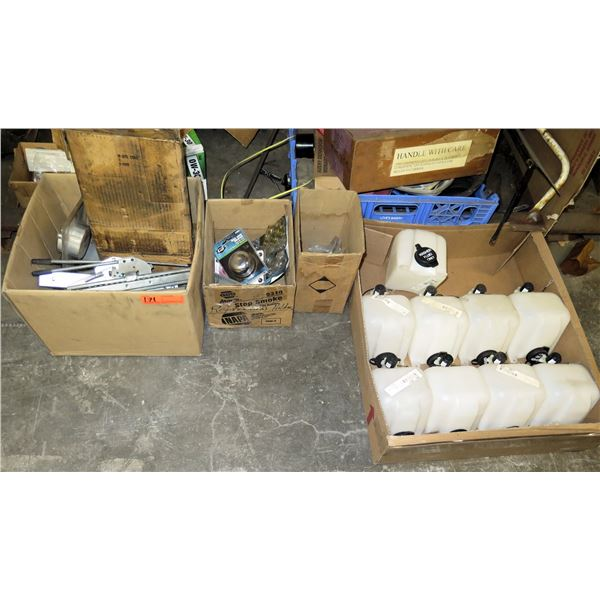 Box Multiple Windshield Wiper Water Reservoirs, Spacer Kit, Hardware, etc