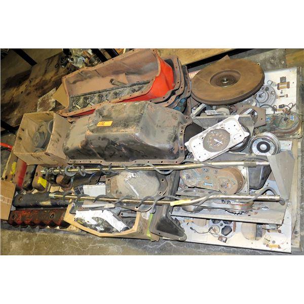 Pallet Gauges, Flywheel, Oil Pan, Valve Covers, Manual Fuel Pumps, etc