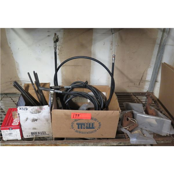Multiple Adjustable Rocker Arms, Brackets, Cables, Push Rods, etc